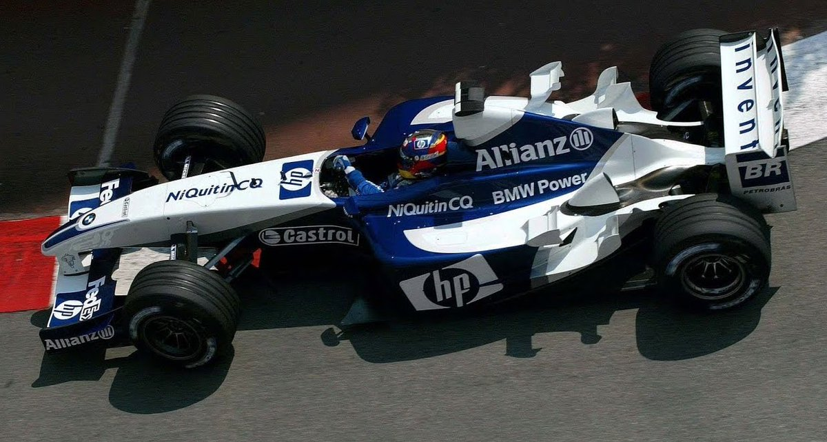 #HappyBirthday Juan Pablo Montoya, 45, here seen en route to brilliant victory for Williams at Monaco in 2003. A stunningly talented driver, he's won in #F1, #IndyCar & #Nascar, & IMHO could well have been F1 world champion if he'd hung around a bit longer. https://t.co/J6naa6eRsa