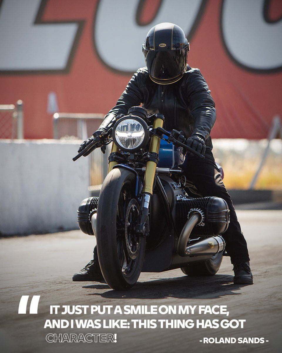 Make sure you accompany Tommy and Roland Sands Design on the track for a mind-blowing experience on the custom BMW R 18 Dragster in the tenth episode of #ABavarianSoulstory! 🔥🔥  🎬 https://t.co/Clof5O2Rv2  #MakeLifeARide #SoulFuel #BMWMotorrad https://t.co/sAxtNb2f6L