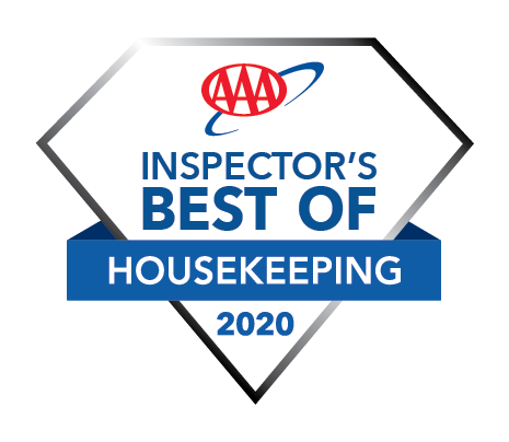 Congratulations to the 2020 #AAA Inspector's Best of Housekeeping winners! In addition to passing AAA's on-site inspection, they received the highest possible scores for cleanliness. https://t.co/3nbe0Ozt3Q #AAABestofHousekeeping #BestHotel #CleanHotel #AAADiamondProgram https://t.co/rcHmhPlstd