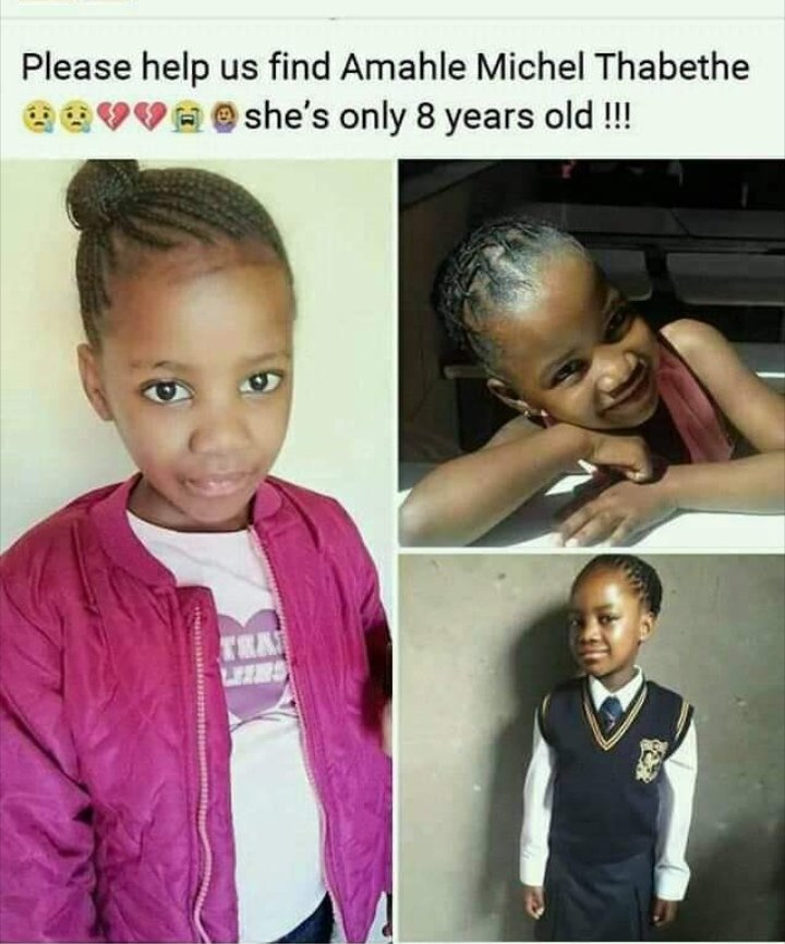 Guys please help me RT 😭😭 Amahle has been missing since April 2019, we honestly cannot afford to give up on her. God is faithful banabeso, he is the God that fails to fail us. PLEASE PRAY FOR AMAHLE🙏🕯️ #IdolsSA  #cassper  #Unathi  #NtateThuso  #PrayforAmahle https://t.co/1h81Iq8x5s