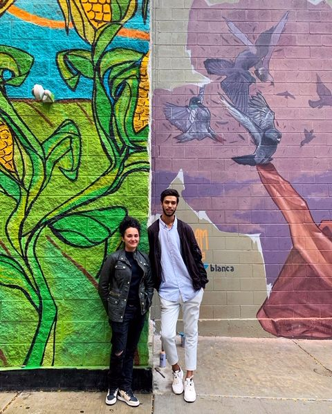Happy Sunday! Did you know that we had a mural exchange with Casablanca in 2018 and 2019? In 2018 Sam Kirk @iamsamkirk went to #Casablanca and painted a mural there and then in 2019 #Dynam came to #Chicago to paint a mural here in the South Loop. https://t.co/RLdWbEeBuE