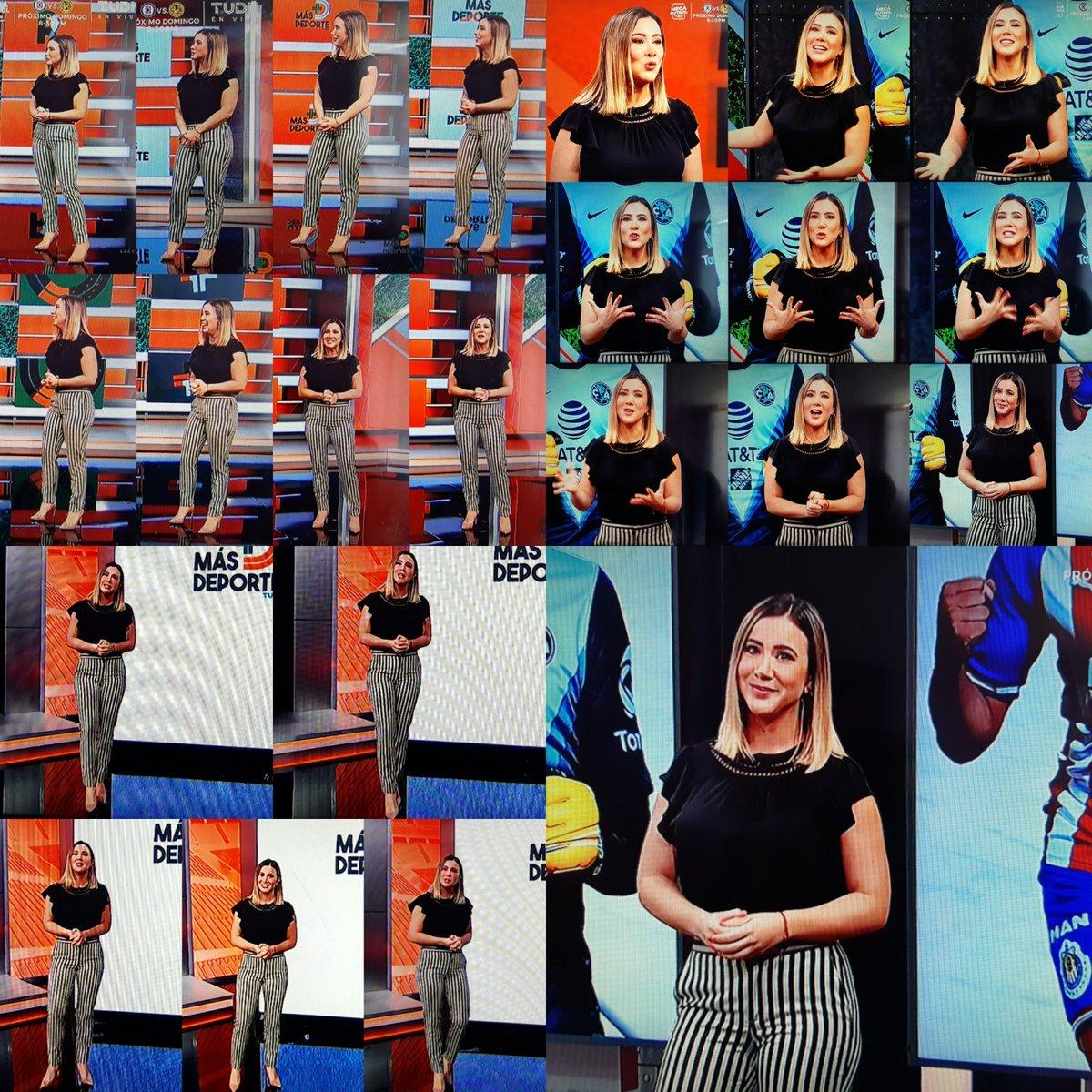 @Mariazelzel @MasDeporteTUDN Muchas gracias!! Igualmente para ti, aquí te dejo tu collage cómo todos los domingos, y ya listo para verte mañana en @MeCaigoDeRisa querida Zel!! 💕😉😘😘😘 https://t.co/le9jVxobSe
