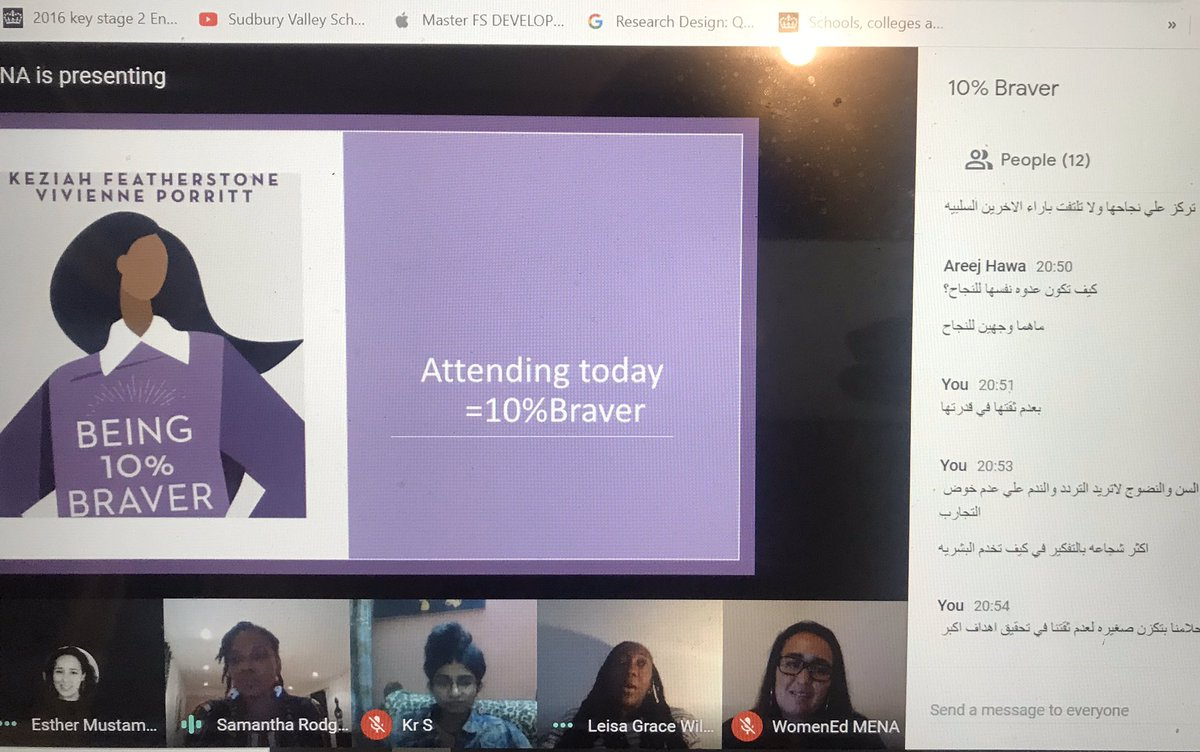 In love with our bio lingual group #womened  MENA  @WomenedMENA https://t.co/HSK6PhFrvh