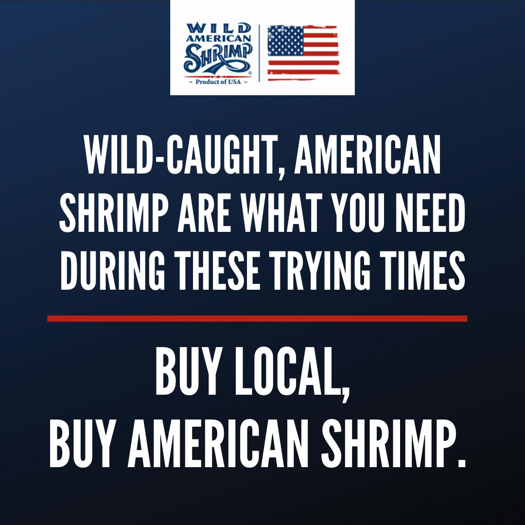Whether you're buying shrimp from your local grocery store or getting them delivered from your favorite restaurant, be sure to always get wild-caught, American shrimp!  Learn more about our delicious Wild American Shrimp at https://t.co/lXQKcR5SXI! #shrimp #buylocal #wildcaught https://t.co/rL1MuBN8Bb