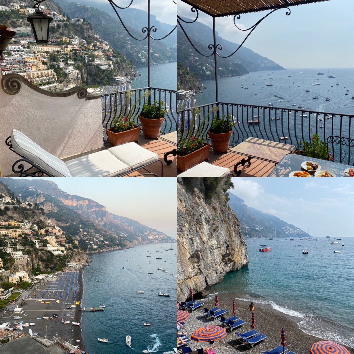 Difficult to capture the sheer magic of Positano and @infomiramare but here goes