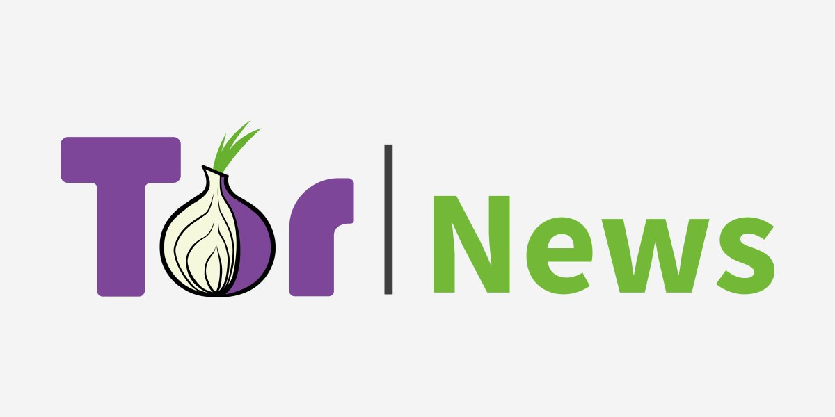 Sign up for Tor News. No ads. No tracking. One email per month. 💌 https://t.co/sDeQbI0v6y https://t.co/i6ViXMmdt0