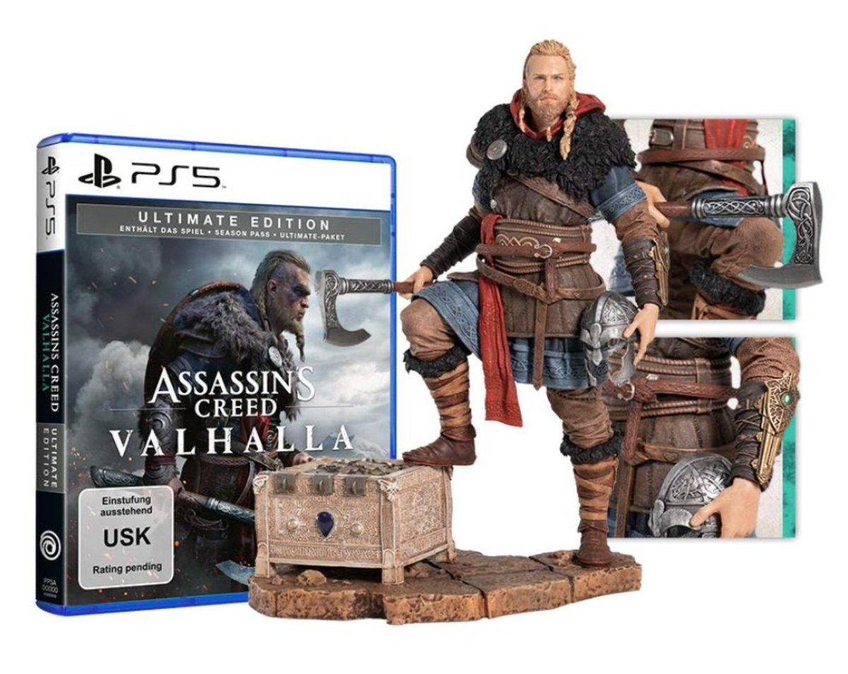 Ps5 Only On Twitter Ps5 Assassin S Creed Valhalla Ultimate Edition Eivor Figur 155 88 Https T Co G9j0cenuso