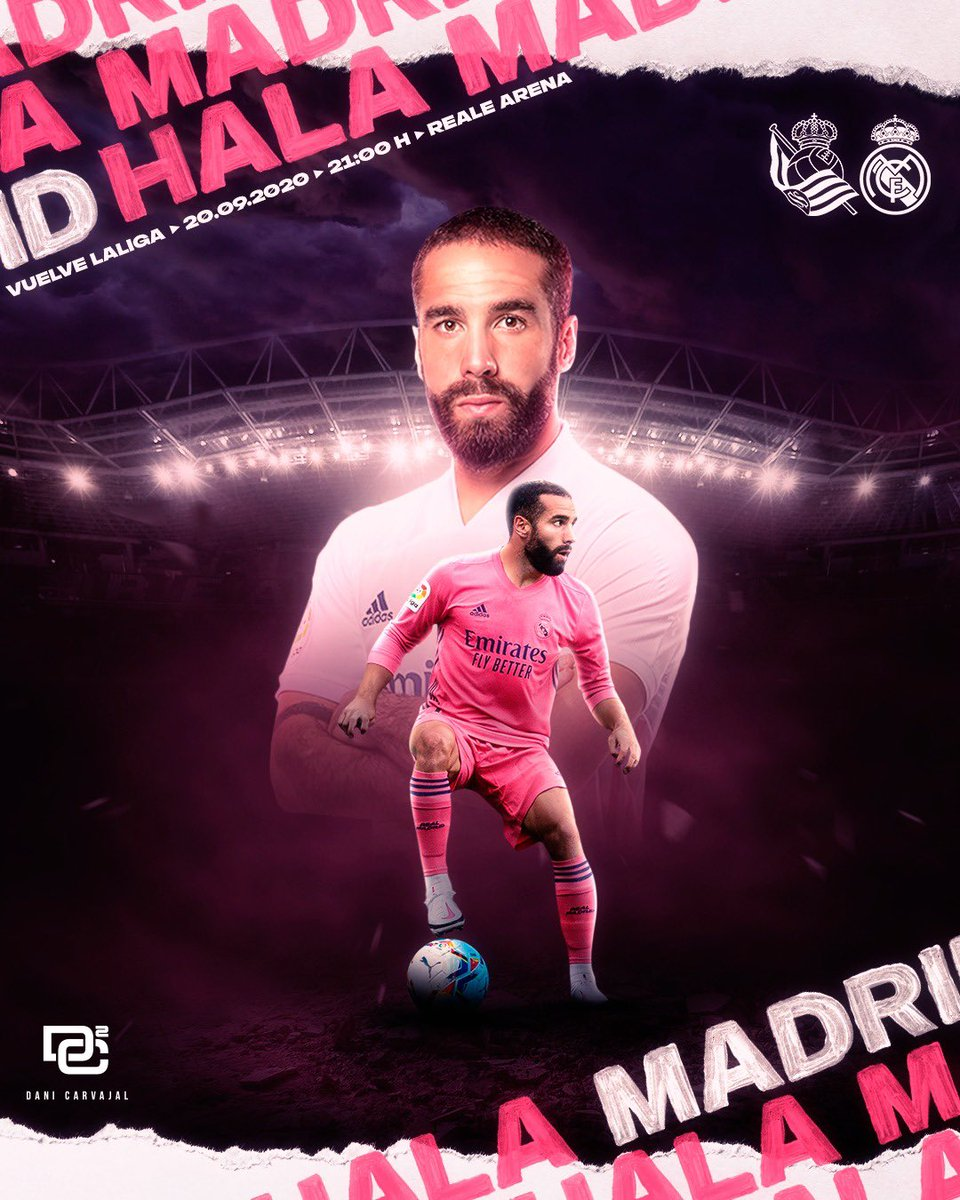 Comienza @LaLiga a  20/21 ⚔️⚪️ Vamos @realmadrid 🚀🚀🚀 #realmadrid #halmadrid #madrid #realfootball #laliga #dc2