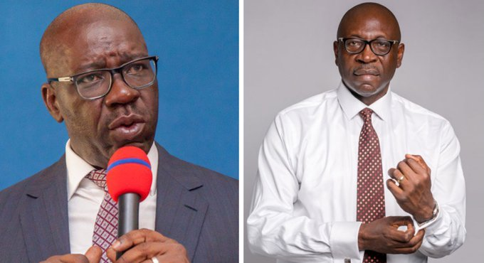 #ondisday #20September2020, incumbent governor Godwin Obaseki of @OfficialPDPNig so far has 288,572 votes while Osagie Ize-Iyamu of @OfficialAPCNg has 202,525 votes. @inecnigeria  has said it is working with security agencies to investigate the violence in the local government. https://t.co/JcQUD8QCMU