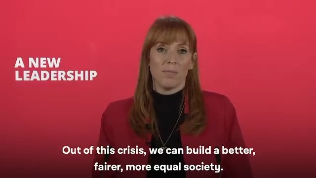 Out of this crisis, we can build a better, fairer, more equal society.