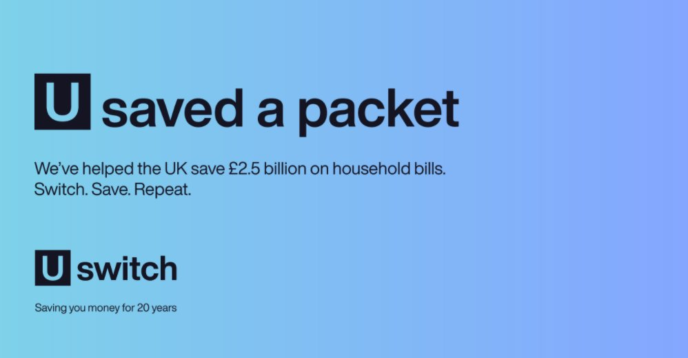 20 years of helping you compare and save! Happy birthday to us and happy £2.5 billion saved to UK households 🎂🥳 https://t.co/KXgGNSR01M