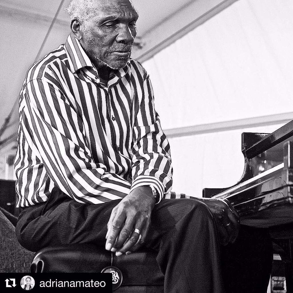 Harold Mabern(March 20,  1936- September 19,2019)These are a series of portraits that Mr Mabern asked me to take @newportjazzfest during his performance there in 2018. He specifically asked me that He wanted some photographs of Him just sitting listening to his band #haroldmabern https://t.co/OMGzr20vnj