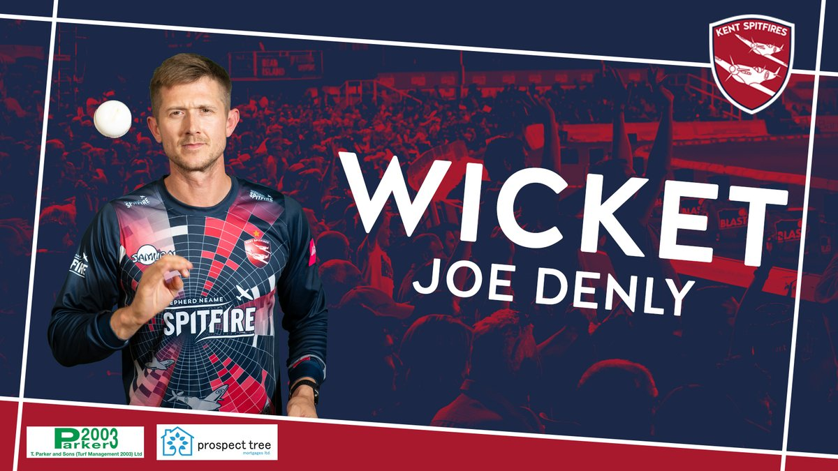 Yes Joe 👊  Jacks skies one and @aj_blake10 takes the catch - @joed1986 gets the current Blast MVP!  Surrey are 13/1 after 2.1 overs  LIVE Match Centre ➡️ https://t.co/lzn78Xxjg5 #SuperKent https://t.co/5r5Upl3YDs