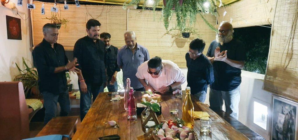 The cream of Tamil film directors celebrate Director Mysskin's  birthday today.  @DirectorMysskin #HBDMysskin @lv_sri @DoneChannel1 https://t.co/fG8xfZVgG7
