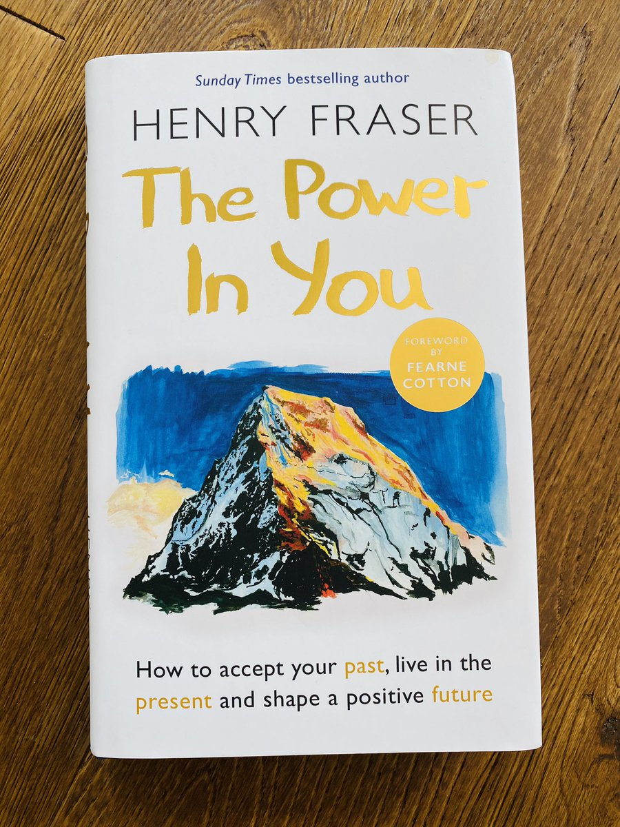 Well, this pretty much puts everything in perspective...a powerful and (whether he likes it or not) inspirational read by a man who paints more beautiful pictures using only his mouth than I ever could using every available limb. Fantastic read by @henryfraser0 https://t.co/WQ9fqjdOGv