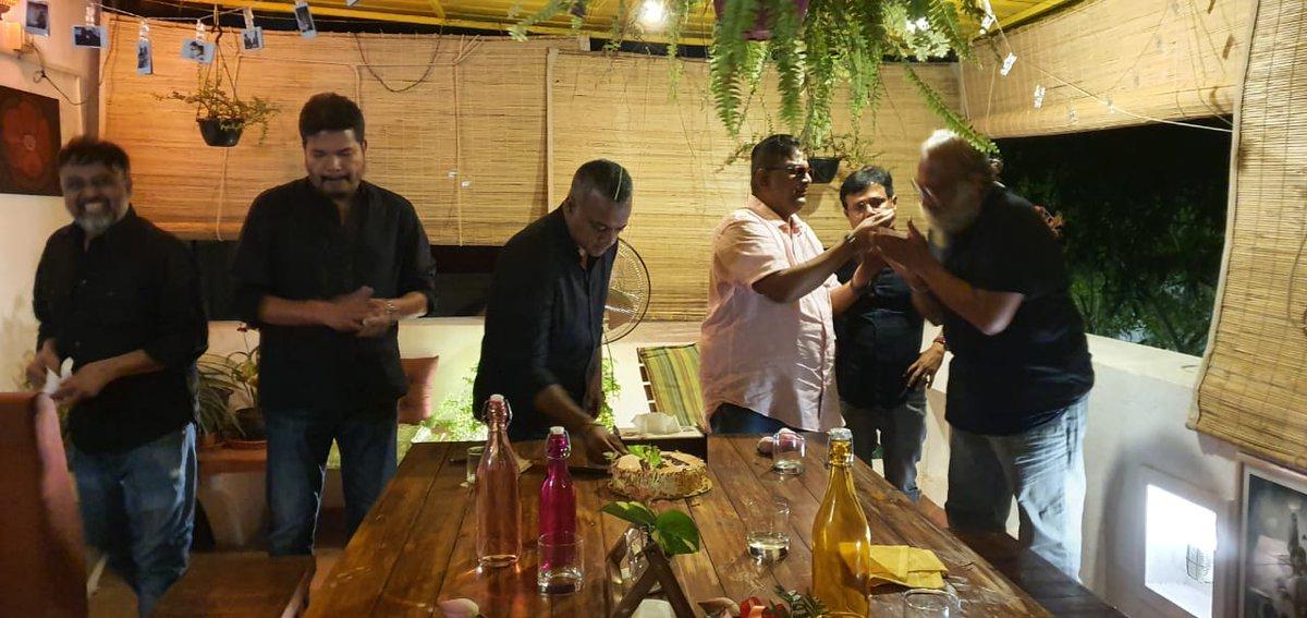 The cream of Tamil film directors celebrate Director Mysskin's  birthday today.  @DirectorMysskin #HBDMysskin @lv_sri @DoneChannel1 https://t.co/RFIqApr9lb