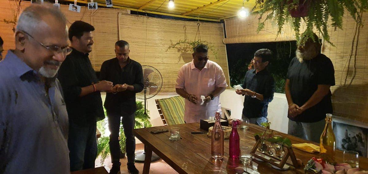 The cream of Tamil film directors celebrate Director Mysskin's  birthday today.  @DirectorMysskin #HBDMysskin @lv_sri @DoneChannel1 https://t.co/m0CQDMF7lU