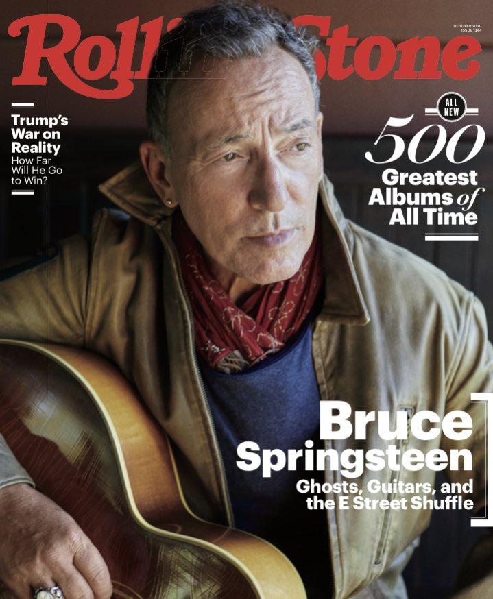 Ghosts, Guitars, and the E Street Shuffle - read Bruce's @RollingStone cover story here: https://t.co/FfFPWA4zEZ https://t.co/fArjyw12m8