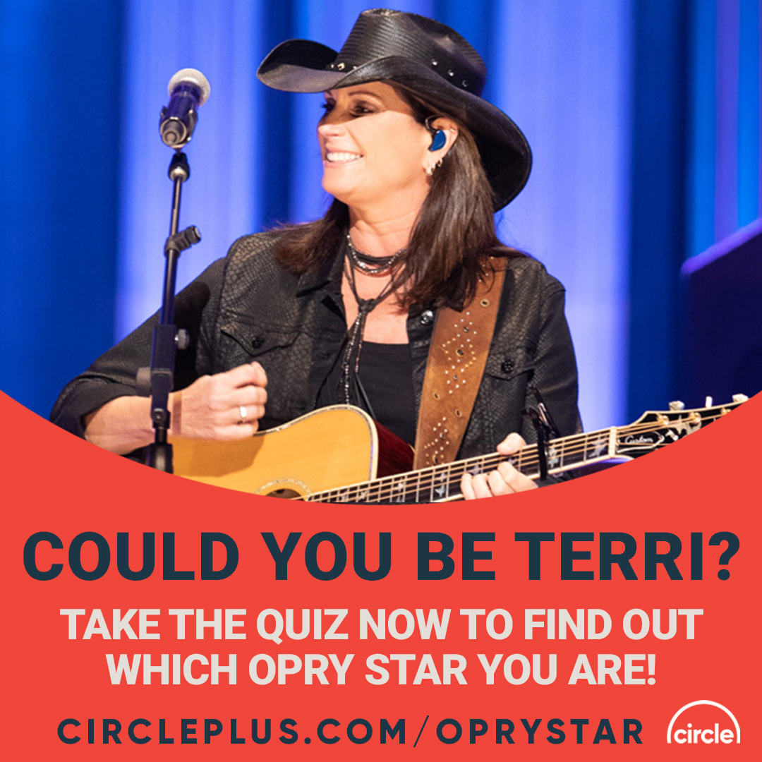 Which Opry Star are you?! Take our quiz to find out now! Let us know who you get below! 👇 👇 👇 @terriclarkmusic #OpryStar #Opry #CircleAllAccess https://t.co/adxDis918S