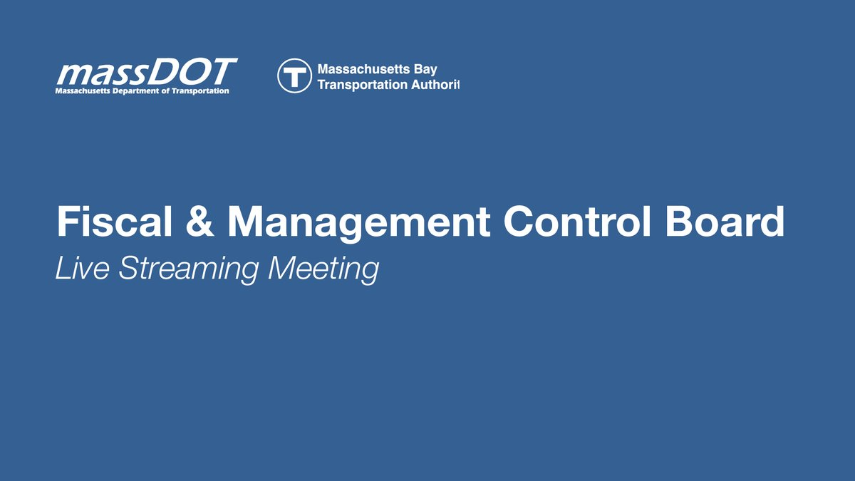 On Sept. 21, @MassDOT Board & FMCB joint virtual meeting will be live-streamed. Public comments: ⌚Real-time, sign-up required 💻Email: publiccomment@dot.state.ma.us ✉️Mail: FMCB 10 Park Plaza - Suite 3510 Boston, MA 02116 ☎️Voicemail: 857-368-1655 Info: https://t.co/WRo2EKUgRL https://t.co/7TgIQXEiYz