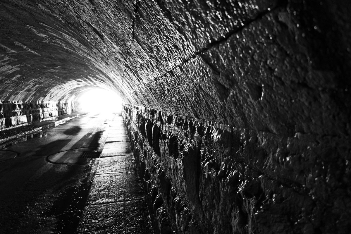 Tunnel Under the Erie Canal built in 1823.  This road is the only road known to go under the Erie Canal and is mentioned Ripley's Believe It Or Not. It truly is fascinating.  #roadtunnel #eriecanal #historical #canonr6 #canoneosr6 #canonfullframer #canonmirrorless https://t.co/uWDt86yhAX