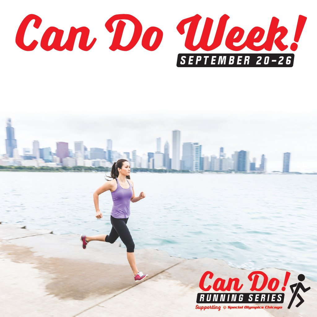 Can Do Week starts today! Sign up for the #CanDoRunningSeries, run a 5k, 10k, or half marathon over the course of the week, raise $100 and you'll be eligible to win one of four great prizes! Winners will be announced 9/28! Sign up today at https://t.co/3SnXas2ykr. Happy running! https://t.co/CbfPUrRp9Y