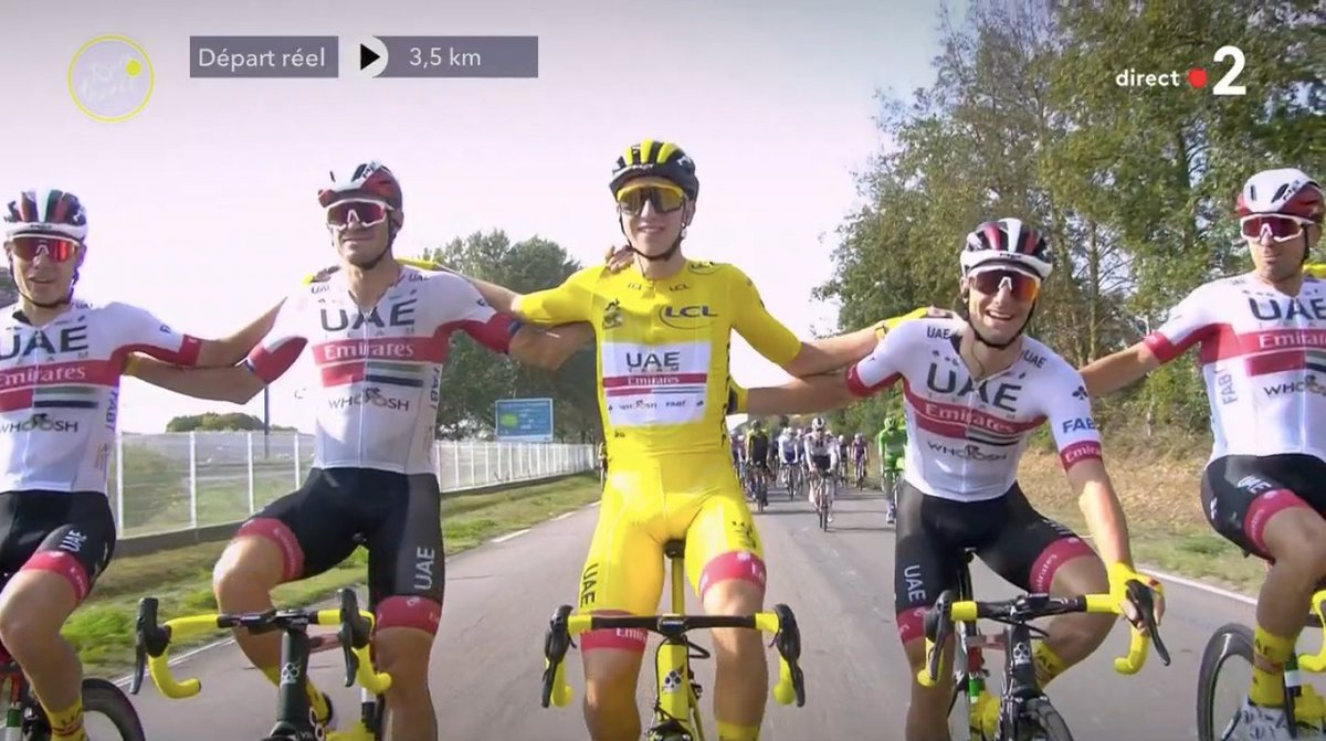 💛 🇸🇮 @TamauPogi 💛  @TeamUAEAbuDhabi   #TDF2020 https://t.co/lHEuDlW4by