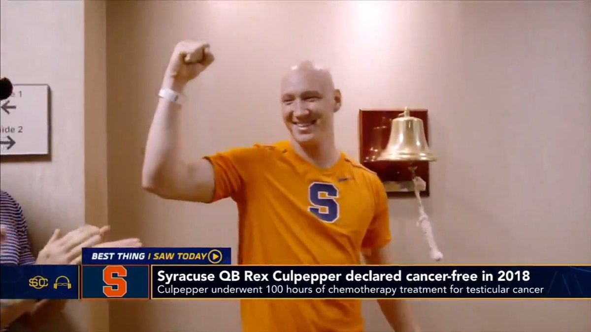 .@notthefakeSVP and @SportsCenter featured Rex's touchdown pass yesterday as the 'Best Thing I Saw Today'