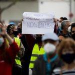 Image for the Tweet beginning: Carabanchel se moviliza contra las