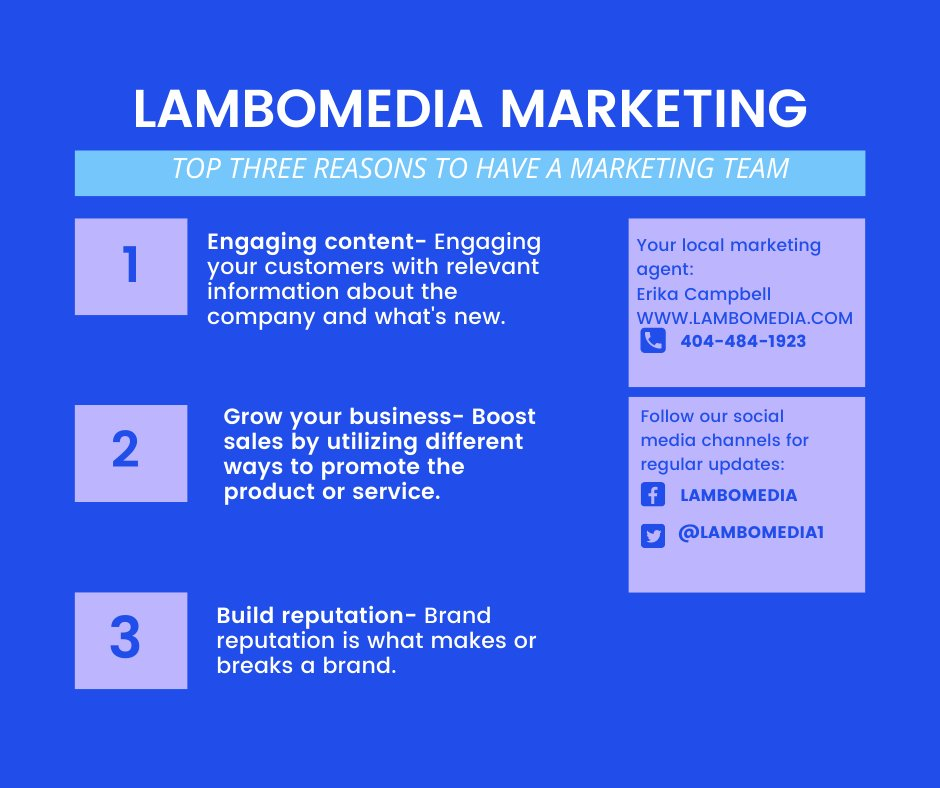 Who Is LamboMedia LLC? #marketing #promo #consultant #brand #business #blackowned #knowledgeable #diy https://t.co/e9nnoXZMv0