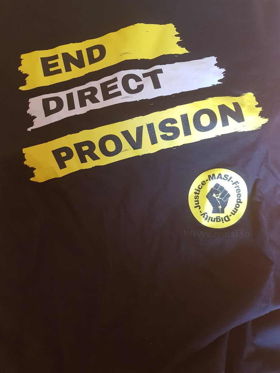Delighted to finally get to wear this. #EndDirectProvision @masi_asylum https://t.co/IBCRIkc8U3