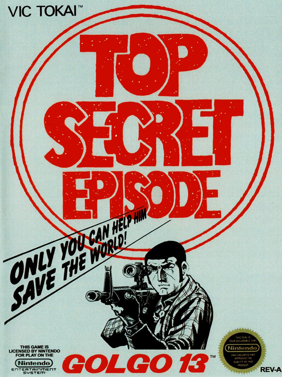 Check out what we have planned next for the #NES #HappyHour with Fitz and Master G!  Season 4: Episode 14  Featuring: Golgo 13: Top Secret Episode (1988) and the Cassandra G cocktail!  #LIVE at 4:00 pm EST... don't miss it!  https://t.co/CAv8txQJ6M https://t.co/TaABbnFDaM