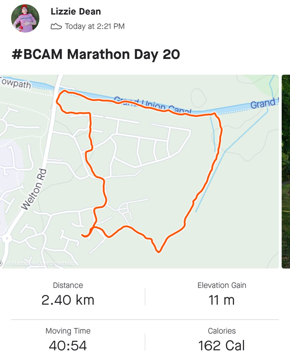 #BCAM Marathon Day 20 ✅ 1.5 miles today (😱)  📈 21.7 total 🚶🏻♀️ 4.5 to go.  Tried a different route today and it was longer than expected + included steeeep steps 🥵 I can see again now though...😅😂  Please 👉🏻 https://t.co/rlJWuL3ZJb to donate to @CureLeukaemia  #CLFamily #CLTAP https://t.co/g1DyrDavRn