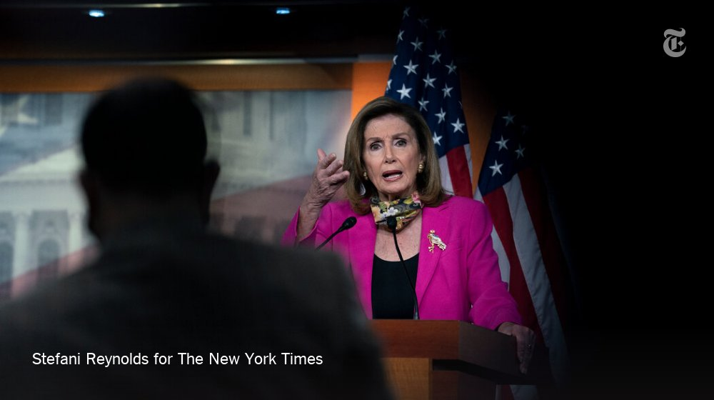 Speaker Nancy Pelosi said on Sunday that President Trump was rushing the Supreme Court process in order to have a conservative justice seated in time to hear a case set for a week after Election Day seeking to invalidate the Affordable Care Act. https://t.co/mpXcmEZBEe https://t.co/Ku2TCPMfvs