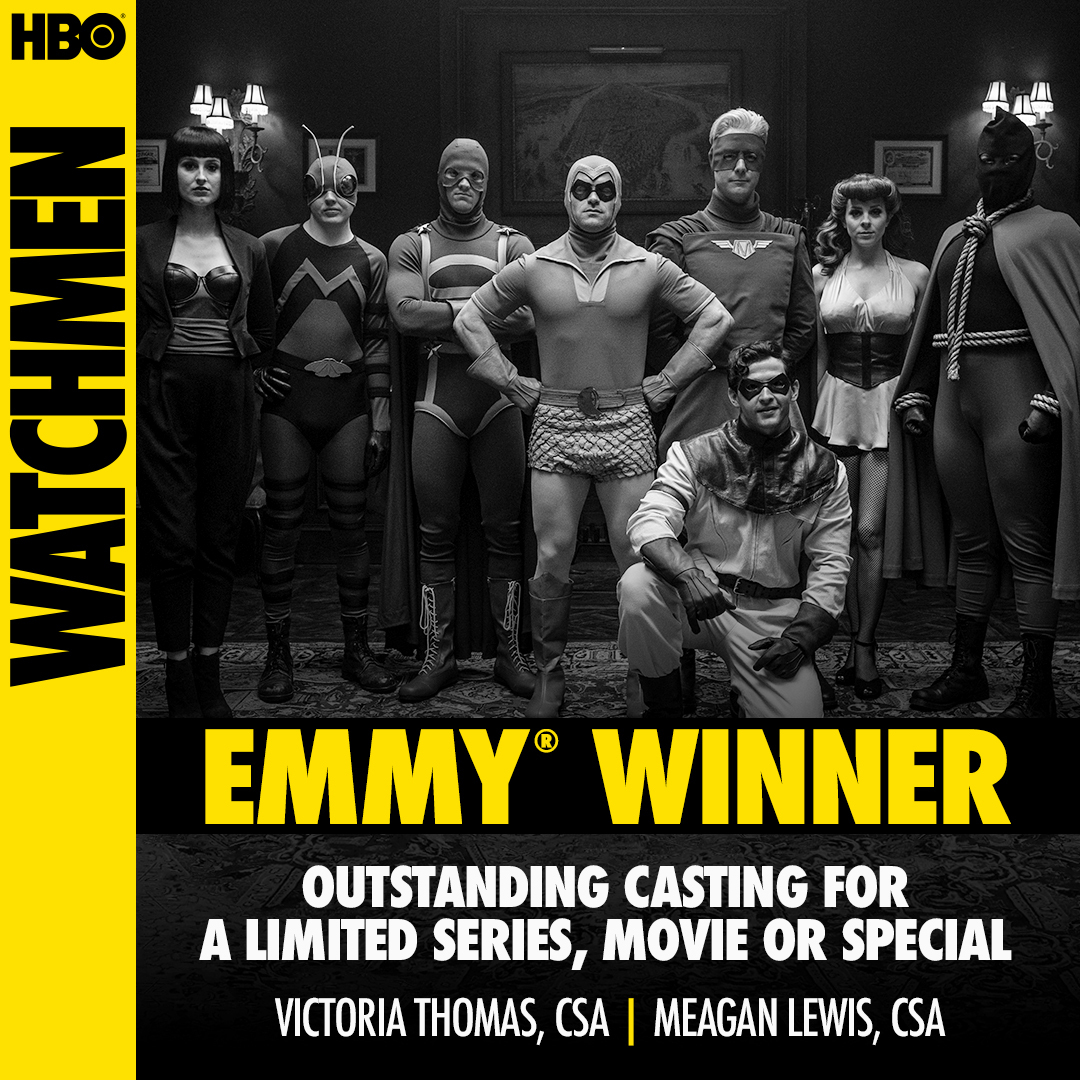 Congratulations to Victoria Thomas and @rpmcasting on their #Emmy win for for Outstanding Casting For A Limited Series, Movie Or Special. https://t.co/vwoj7bbk85