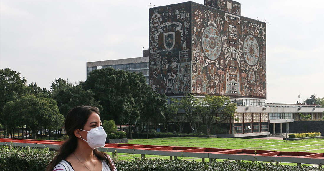 """Cerca de 350 mil estudiantes de la UNAM iniciarán clases vía remota y en """"condiciones inéditas"""" este lunes https://t.co/N8fmStmYSq https://t.co/DSa76a6Zu9"""