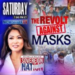 Image for the Tweet beginning: Re-airing today 11am Eastern! #RevoltAgainstMasks