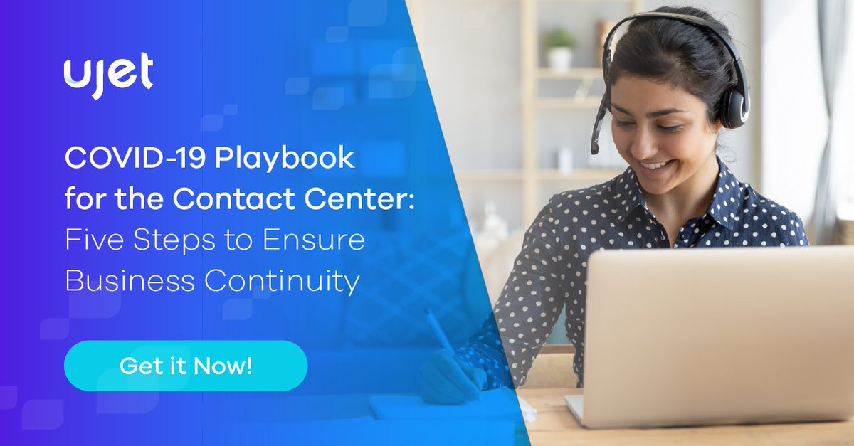 "- @omerminkara and the @aberdeengroup team have outlined critical steps #ContactCenter leaders can take to ensure business continuity in our ""new normal"". Download today from @UJETco https://t.co/Du5Y15uEHO #CustomerService #CustomerExperience #CCTR #CX #ccaas #contactcenter https://t.co/BhwsNmErlV"
