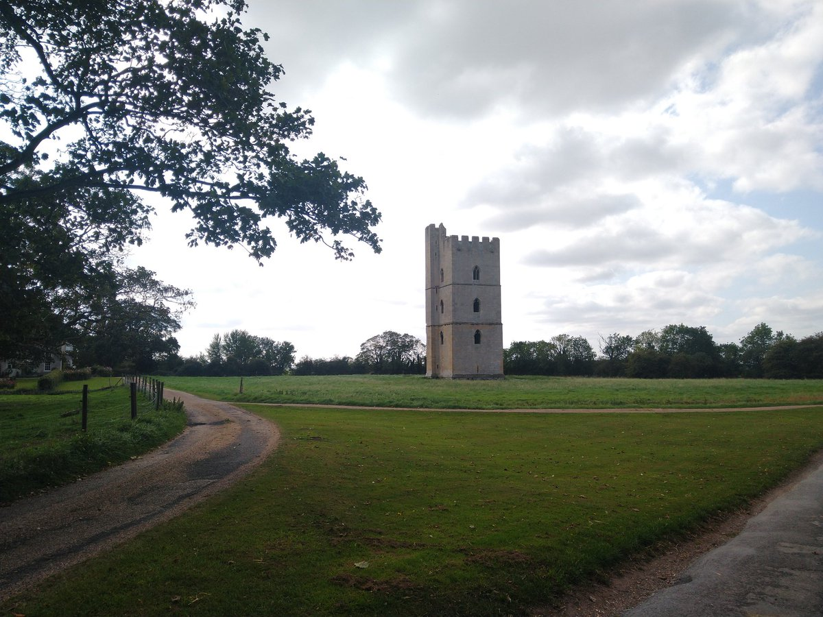 Well, my little hiccup this morning came to some good. It made me even more determined to cycle further! Ended up doing 25 miles which is the furthest I've cycled in at least 20 years... Now putting my feet up. Here's Kyme Tower to give you a taste of the landscape #lincolnshire https://t.co/XS2zoaxEZa