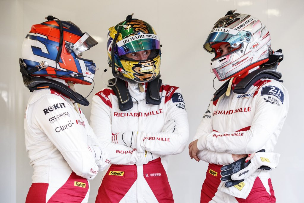 P9 AT OUR FIRST 24H LEMANS💪 unbelievable job by the whole team!! Big thanks to @Richard_Mille @fiawim @SophiaFloersch @TataCalde for making this dream come true👊 https://t.co/bRXfWU0DPx