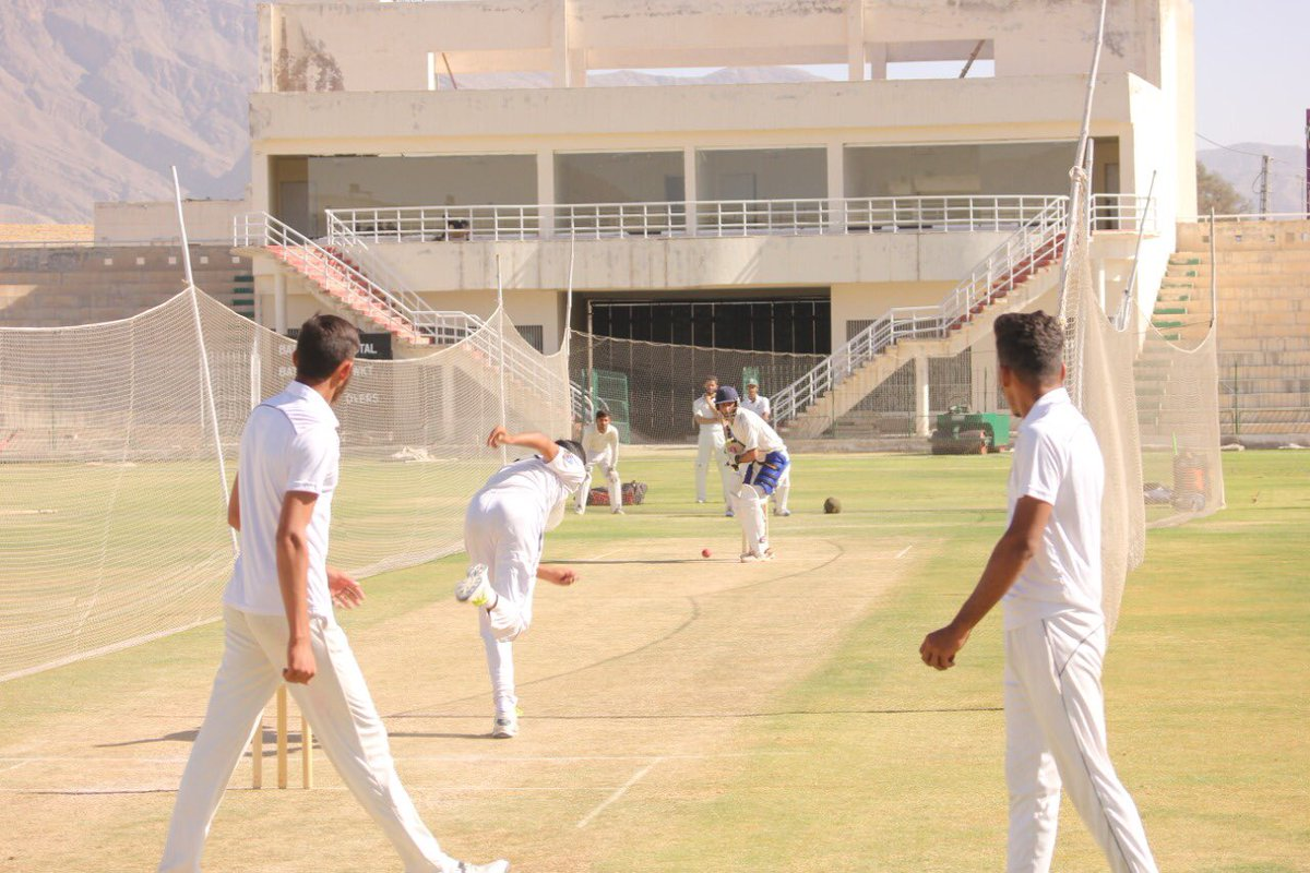 📸📸 Open trials for the Balochistan U-19 team at the Bugti Stadium, Quetta under Pakistan Cricket.  ©️PCB Media  #PakistanFutureStars ⭐ #WeTheGladiators https://t.co/6Wql0twXwB