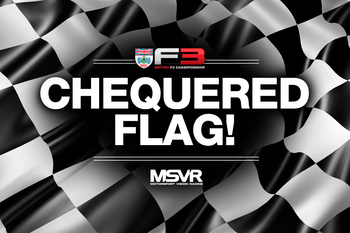 FLAG! It's a second win of the year for @kmainiofficial! He's 2.771s ahead of @ulysse_de_pauw, with Kaylen Frederick third. Maini stretches his championship advantage again! https://t.co/EdO7VNkBCw