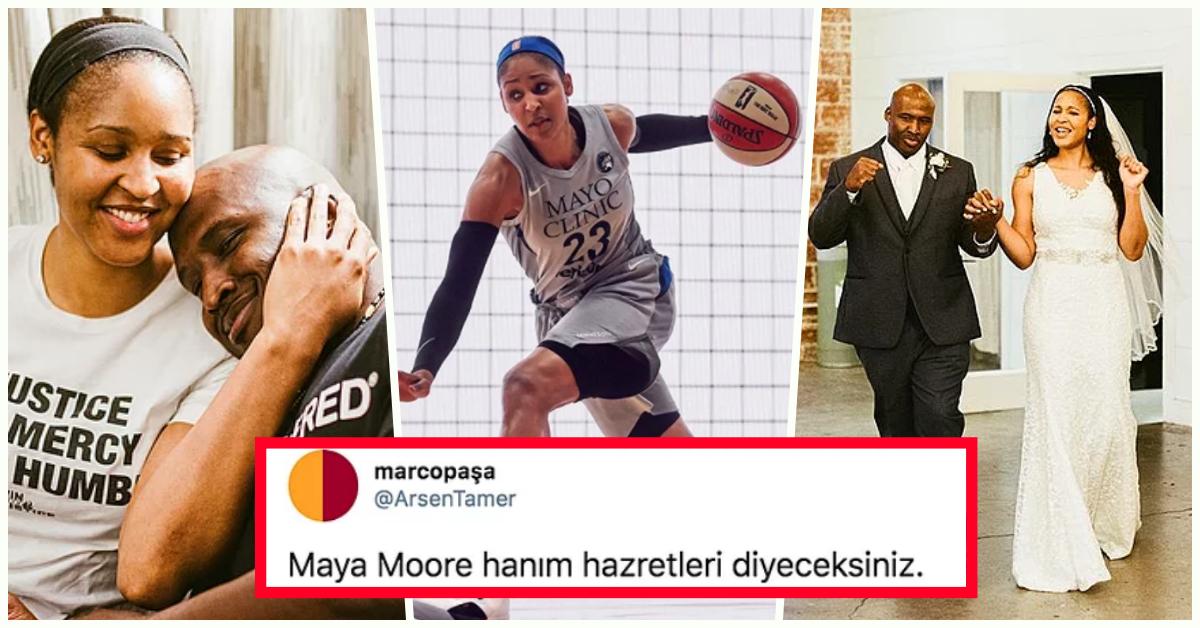 Film Değil Gerçek! Uğuruna Kariyerini Bırakıp Hukuk Okuyarak Eşini Hapisten Kurtaran Dünyaca Ünlü Basketbolcu: Maya Moore https://t.co/So2Jx9PUWC https://t.co/YmLaekFVH5