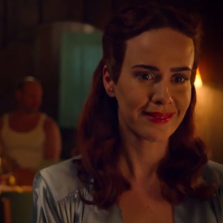 Sarah Paulson is wickedly creepy in Ratched