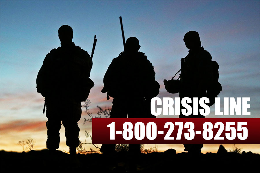 No matter if you're a Marine, veteran, or concerned about one, free and confidential help is always available. Please call the Crisis Line at 1-800-273-8255 and press 1, text 838255, or visit veteranscrisisline.net #SuicidePrevention