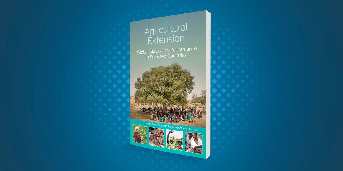 "#ICYMI, view the video, podcast, slides, & book from Sept. 10 📕#IFPRIBookLaunch ""#AgExtension, Global Status and Performance in Selected Countries,"" w/ @PIM_CGIAR ➡️ https://t.co/1p2ixNh45r  @MMangheni @governoparana @MakerereU @MAAIF_Uganda @LtRwamirama #sdgs #IFPRIEventsRewind https://t.co/YOeeZUqAUy"