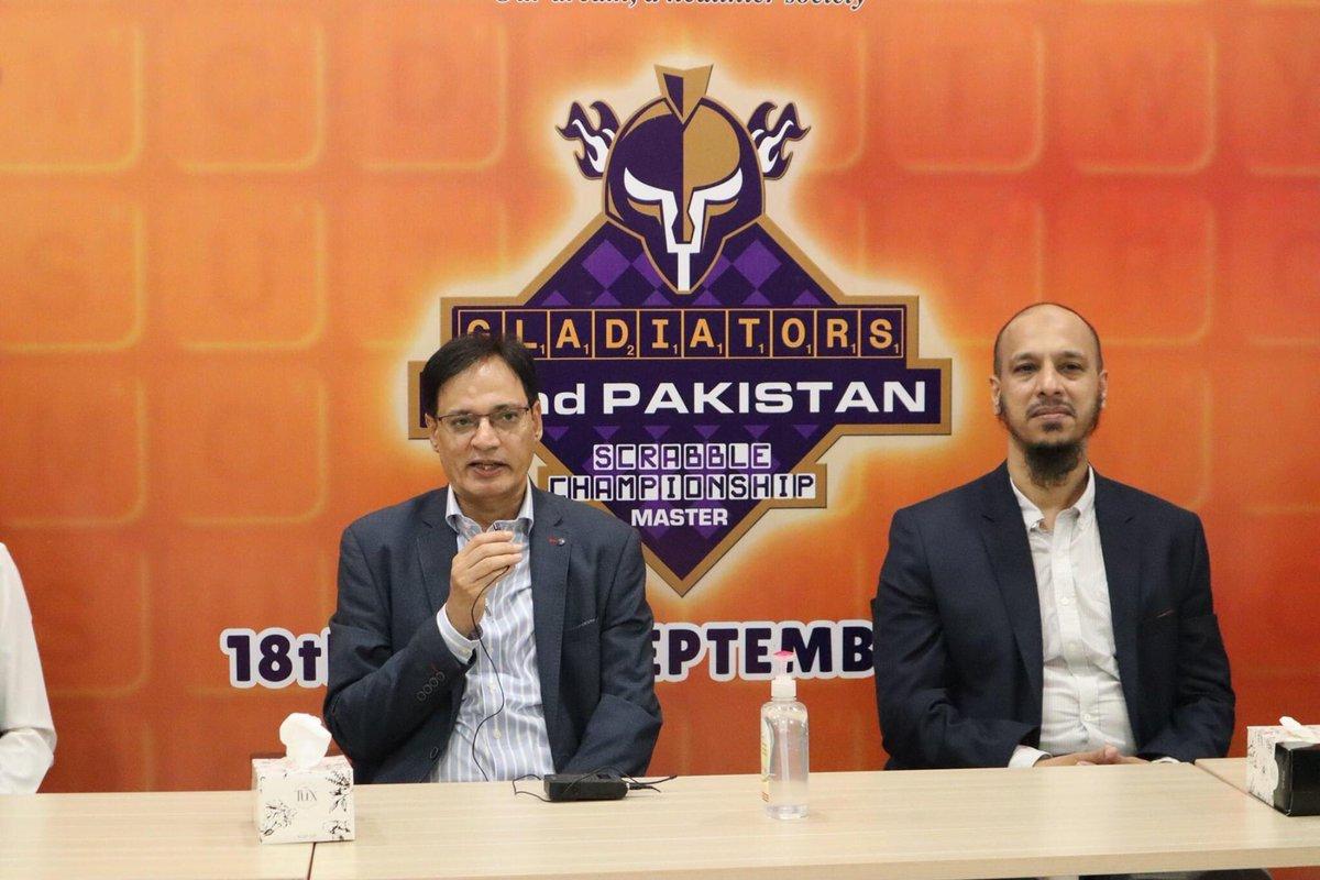 Gladiators 32nd Pakistan Scrabble Championship 🏆  @pakscrabble   #WeTheGladiators #PurpleForce https://t.co/sgJnhKkOVn
