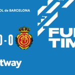 Image for the Tweet beginning: Good result for @RCD_Mallorca