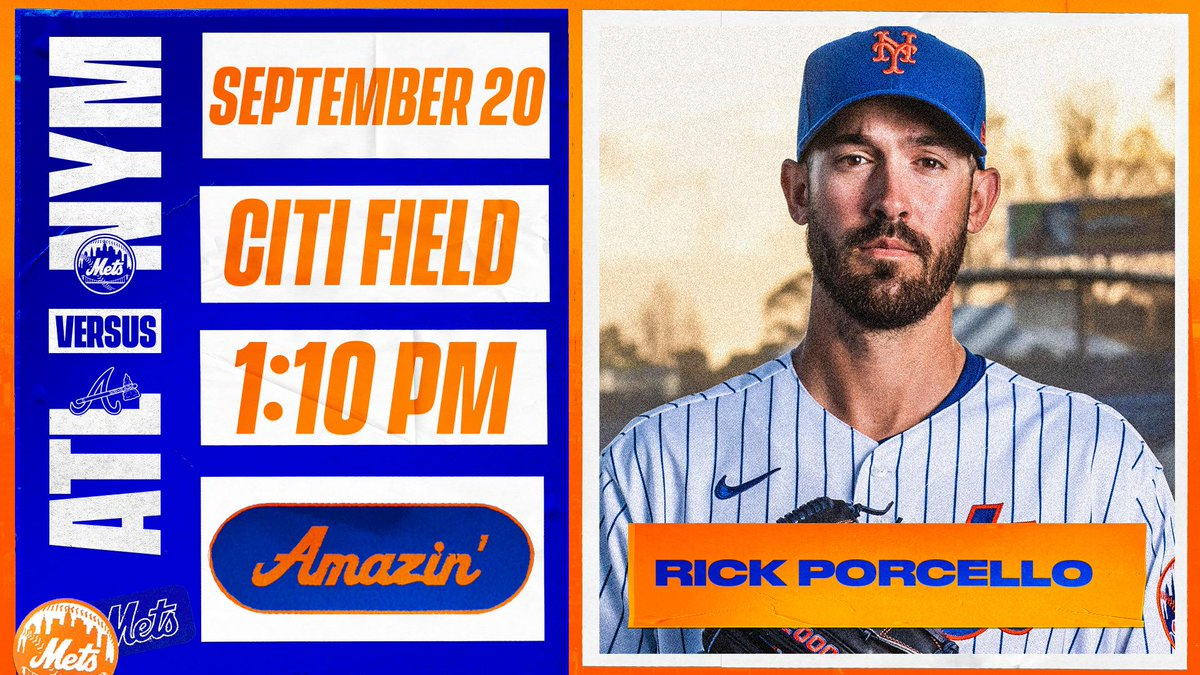 Looking for a series win. #LGM  📍: @CitiField 🕖: 1:10 p.m. 💪: @RickPorcello 📺: @SNYtv 📻: @wcbs880 📣: https://t.co/c5ziFUOdlr 💻: https://t.co/tXKmAy4gbH https://t.co/dLFMv1LWU5