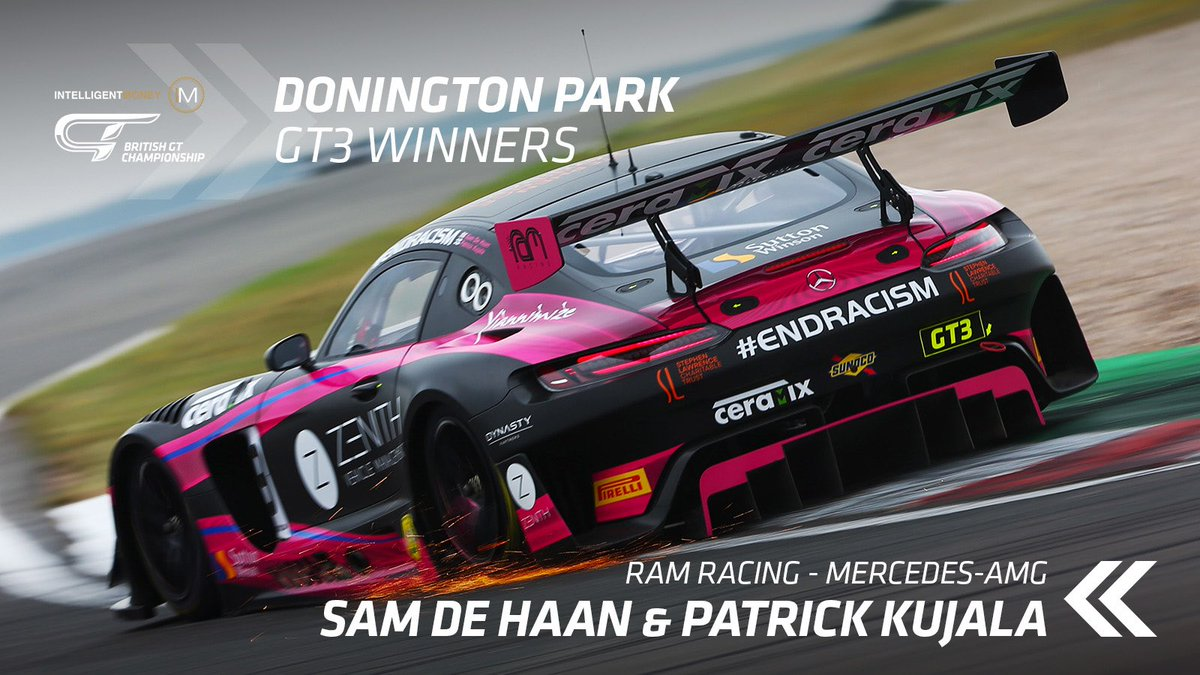 🏆 Victory has vaulted RAM's Kujala and De Haan into the championship lead with three races remaining.   They now enjoy a nine-point advantage over Sandy Mitchell and Rob Collard whose race was compromised by a slow puncture and 20s Success Penalty.  Balon/Keen move up to third. https://t.co/e2XNZcptZB